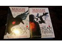 The Raven Boys set by Maggie Stiefvater