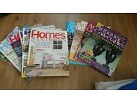 Antiques magazines