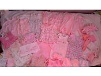 Baby girls clothes bundle 0-3 months bargin