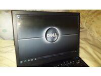 Dell e4300 laptop,13.3 screen,dual core,2 gig ram,320gb hard drive,dvdrw.Win 7,GWO,in Torquay!