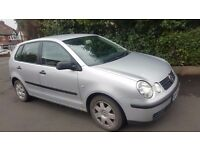 VW POLO 1.2 SE, 54 REG, 1 YEAR MOT, 5 DOOR, HPI CLEAR, DRIVES PERFECT, SILVER