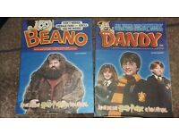 Harry potter dandy and beano comics