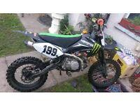 140 cc pitbike