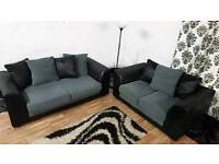 New Black&Grey 3+2 seater**Free delivery