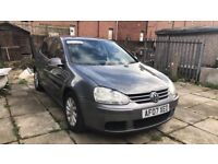 VOLKSWAGEN GOLF 2007 1.9 TDI MATCH SPARES OR REPAIRS