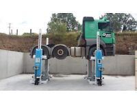 Howden Tools Column HGV Truck Lift Suit Scania , Volvo or Trailers