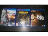 Ps4 games amd a free blueray film