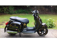 Vespa GT125 / 250 ( 125cc FITTED WITH 250cc Engine ) 2007 Black