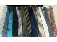 Bundle of over 50 ties