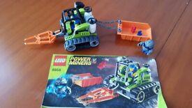 Lego power miner set 8958 Granite grinder