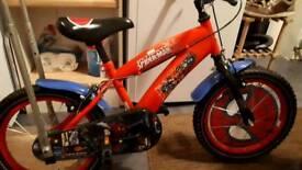 Spiderman Bike 16 inch (small boy's) Very good condition