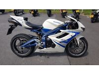 Triumph Daytona 675se. Low miles. Arrow exhaust and mapped. Spare pillion seat.
