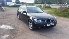 BMW 520 D E 60 manual FOR PARTS