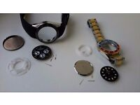 Top BrandRolex watches to be put back together x 2