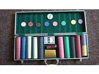 Full large proffessional poker set