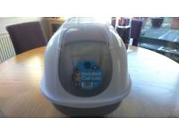 Cat Hooded Litter Tray