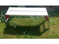 Large Aluminium Folding Work Platform or Bench - 1000mm Long