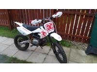 Brand new M2r 125 big wheeled pibike brand new not pw cr kx yz lt rm