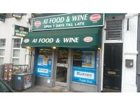 Off licence and groceries store for sale
