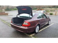 MERCEDES E220 CDI 2008 CLEAN IN AND OUT GOOD RUNNER.