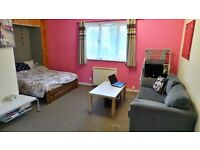 GROUND FLOOR, Purposed Built Splendid and Massive STUDIO, Becton E16--No DSS Please--
