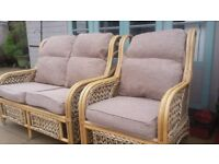 Conservatory 2 seater & chair