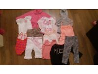 18-24 month girls clothes bundle