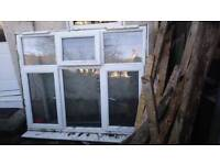 Free for uplift 3x double glazing window units