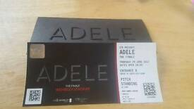 Adele The Finale Ticket 29th June