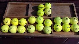 Yellow golf balls for sale