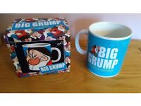 Next Big Grump Giant Mug - In original box, as new and never been used