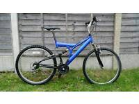 "Mens 26"" wheel mountain bike"