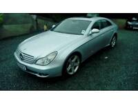 06 Mercedes CLS350 Auto 4 Door FULL leather interior Silver Met 2Keys Can be seen anytime