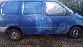 Nissan vanette 2.3 spares or repairs