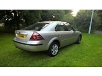 FOR SALE 2005 MONDEO 2.0 GHIA WITH 12 MONTHS MOT