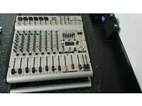 behringer powered mixer