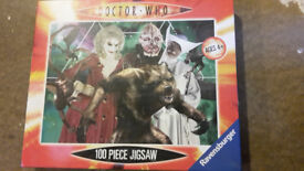 Dr Who jigsaw puzzle 100 pieces