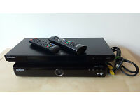 Samsung BD-E6100 3D Smart Blu-ray Player with Built-in Wi-Fi and YouView box (both with remotes)