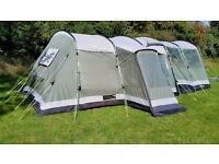 Montana 6 Tent,Carpet footprint and extension.