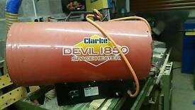 Clarke space heater. Spaird or repairs