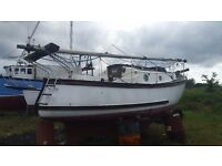 IP 24 for sale with inboard diesel engine and in good working order