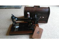 Old Vintage Antique 1891 Hand Crank Singer Sewing Machine (Working)