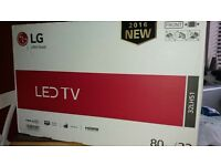 LG TV 32INCH Still in box never been opened.