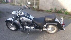 Suzuki Intruder 1500cc, Bobber/Chop/Cruiser, 2000 plate, only 10k low miles, 12 months mot.£3800 ono