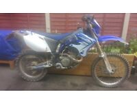 Yamaha wr450f enduro bike 2004 yz cr rm kx ktm