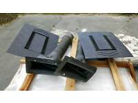 New slate tile vents with adaptors