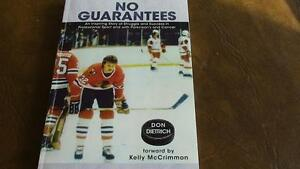 No Guarantees, Hockey Player Don Dietrich, by Brad Bird, 2007 Kitchener / Waterloo Kitchener Area image 1