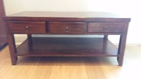 Willis Gambier Solid Wood Coffee Table
