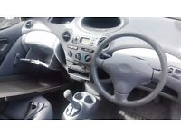 Toyota YARIS-fast sell-transport includet
