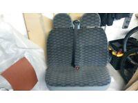 MK7 / MK6 Transit front seats - Trend / Sports - Heated drivers seat